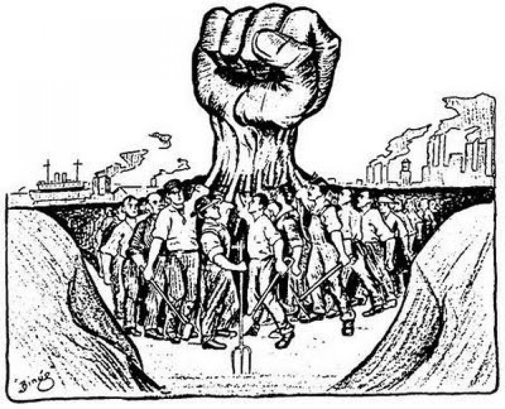 Amanis History Blog Political Cartoon Labor Unions